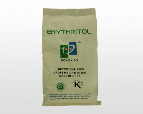 Does erythritol sugar substitute completely replace fructose syrup, synthetic sweeteners such as aspartame?